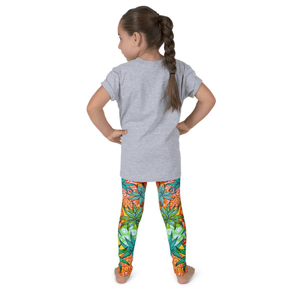 Kid's leggings - Pineapple
