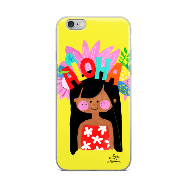 Aloha Girl phone case