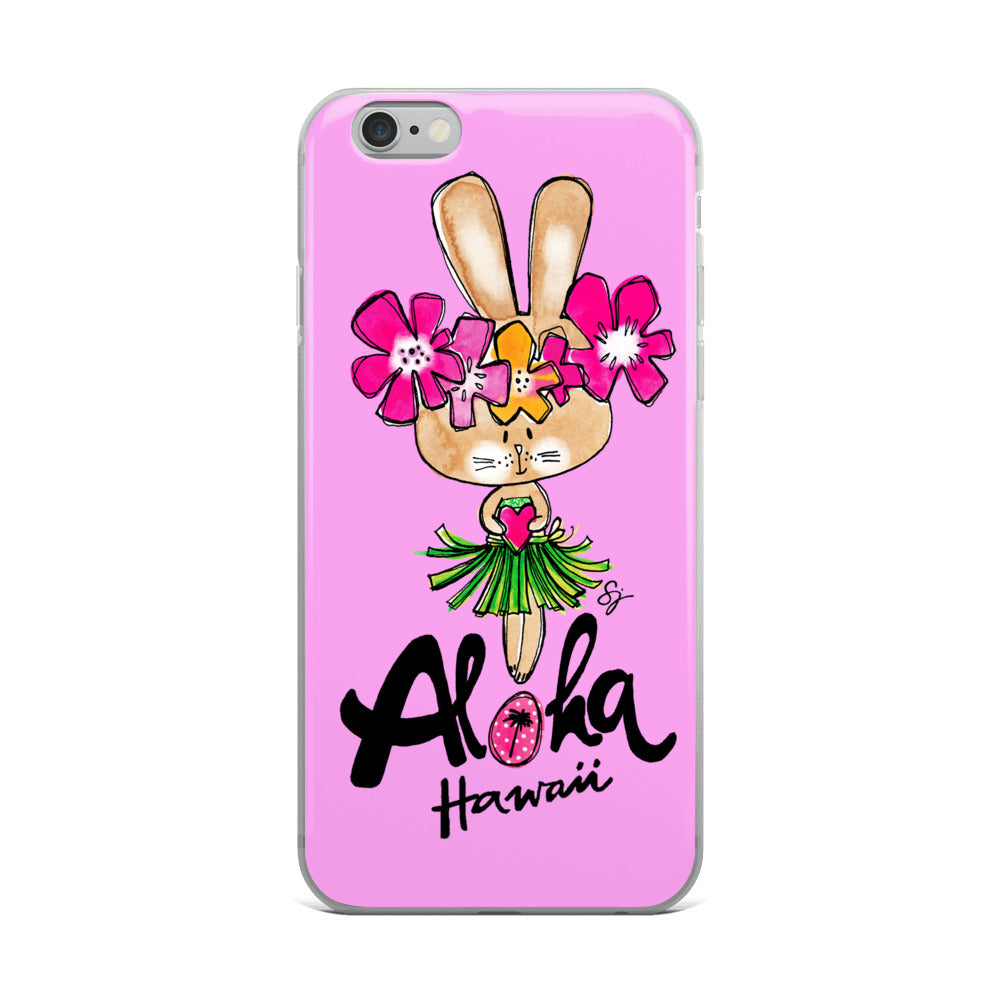Aloha Bunny iPhone Case