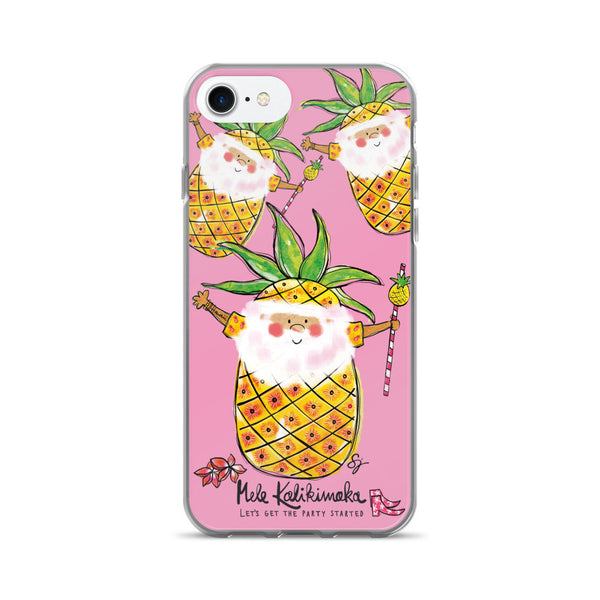 Pina Colada Santa - iPhone 7/7 Plus Case