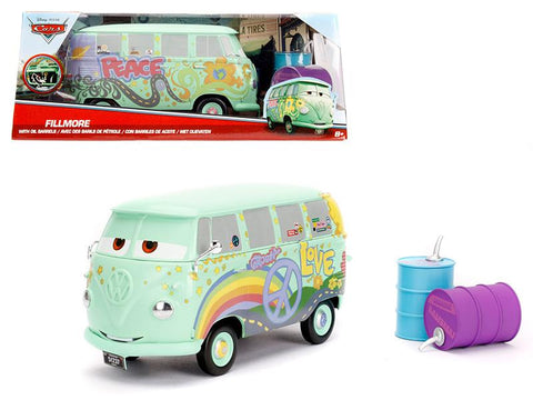 Diecast Disney Pixar Fillmore with oil cans
