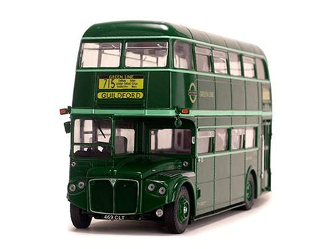 Diecast 1958 Routemaster Double Decker Bus RMC 1469-469CLT 1/24