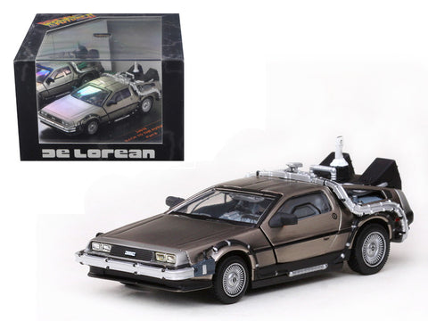 Diecast Delorean, Back to the Future part 2, 1/43rd