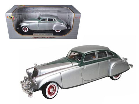 Diecast Pierce Arrow Silver 1933 1/18th