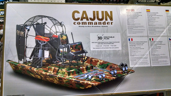 Cajun Commander RC Airboat RTR