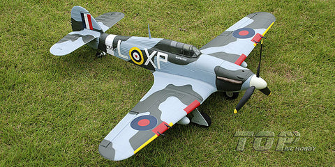"TopRC Hawker Hurricane 750mm/30"" Electric Airplane PNP"