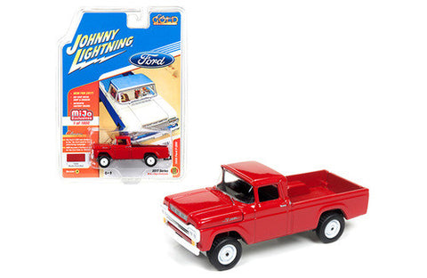 "Diecast 1959 Ford F-250 Pickup Truck , Red or black, ""Classic Gold 1/64th"