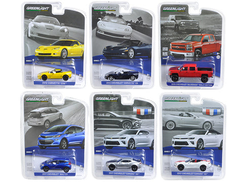 Diecast GM collection series 2 , 6 pc. set