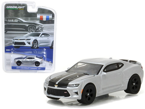 Diecast Chevy Camaro SS 2017 , 1/64th, Silver Ice Metallic