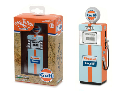 Diecast 1951 Wayne 505 Gulf Oil Gas Pump 1/18