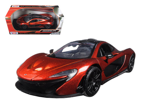Diecast McLaren P1 orange 1/24th, white, or yellow