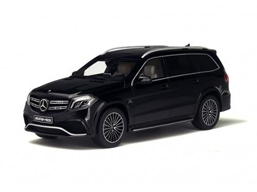 Diecast Mercedes AMG GLS 63 in black, Ltd. Ed. 1000 pcs., 1/18