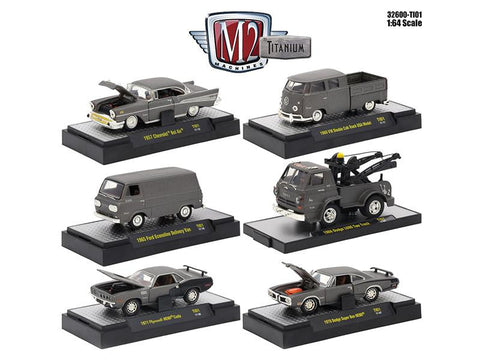 Diecast Titanium Release 1 6 car set 1/64th