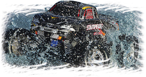 Traxxas 2wd Stampede Monster Truck