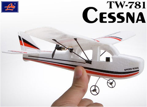 "Mini Cessna 200mm/8"" Indoor Electric Plane RTF"