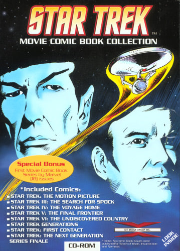 Star Trek Movie Comic Book Collection