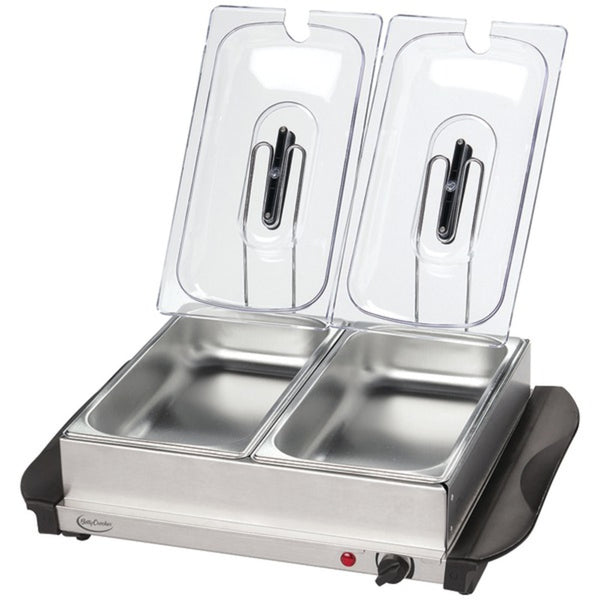 Betty Crocker® Stainless Steel Buffet Server with Warming Tray, BC-2587CY