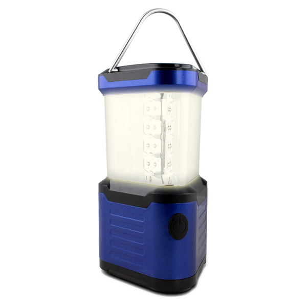 Portable 24 LED Super Bright Deluxe Camping Lantern with Compass (Random Colors)