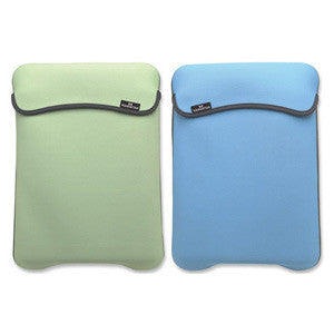 Reversible Notebook Sleeve Fits Most Widescreens Up to 12.1 Green and Baby Blue, 421928