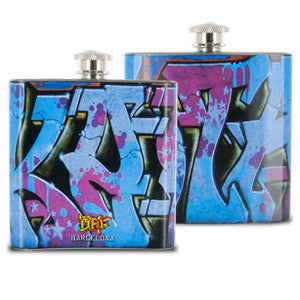 Fi Hi Graf City 6oz Flask - Galaxy Quest