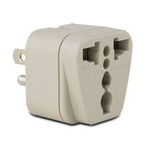 Conair Travel Smart Grounded Adapter Plug - North/South America, Japan