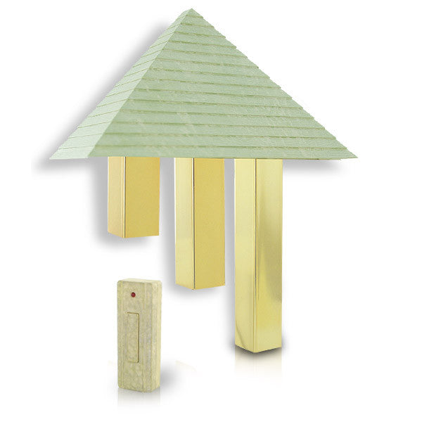 Artworks Home Décor Wireless Pyramid Door Chime