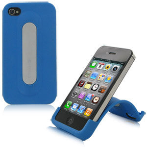 XtremeMac Snap Stand for iPhone 4 & 4S, Blue, IPP-SS4-23