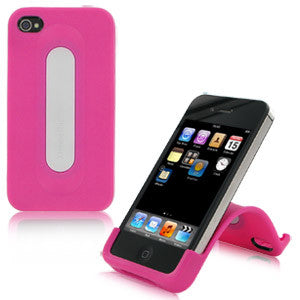 XtremeMac Snap Stand for iPhone 4 & 4S, Bubble Gum Pink, IPP-SS4-33