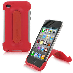 XtremeMac iPod Touch 4G Snap Stand - Cherry Bomb Red, 2539