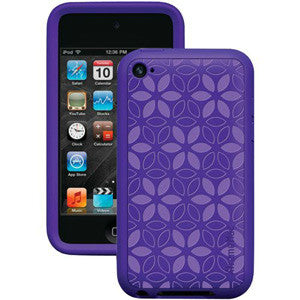 XtremeMac iPod Touch 4G Tuffwrap Tatu Skin Case - IPT-TT4-33 - Purple, 02302