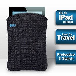 Built NY Slim iPad or Tablet Sleeve - Graphite (Fits all iPads), A-SSD2-GGD