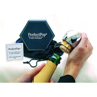 Perfect Pop Champagne Opener - Silver - 00078
