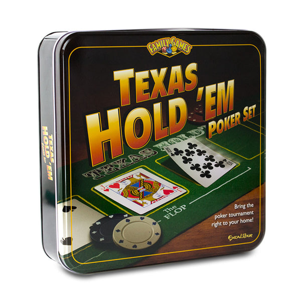 Excalibur Texas Hold 'Em Poker Set