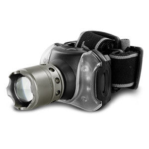 Ultra-Bright CREE 3W Headlamp with Zoom Function