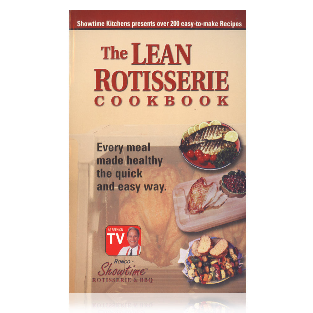Ronco Lean Rotisserie Cookbook - BK00125TPRT