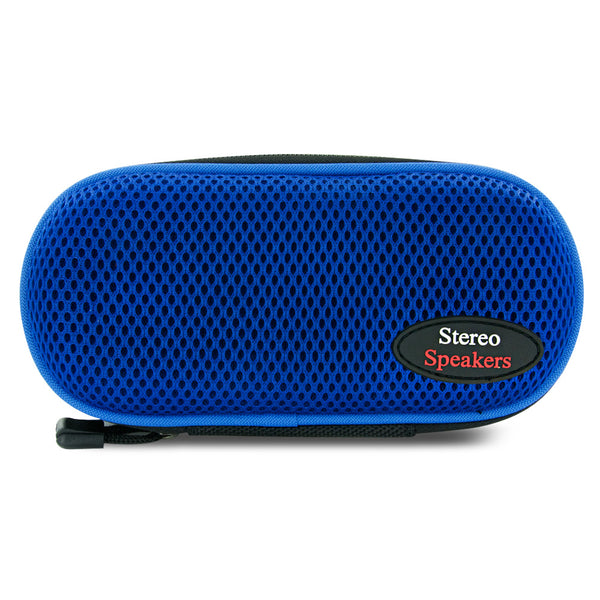 Sporty Nylon Portable Stereo Speaker (Blue)