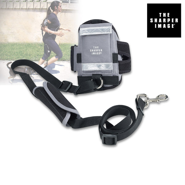 Sharper Image All-in-One Hands-Free Armband Pet Leash