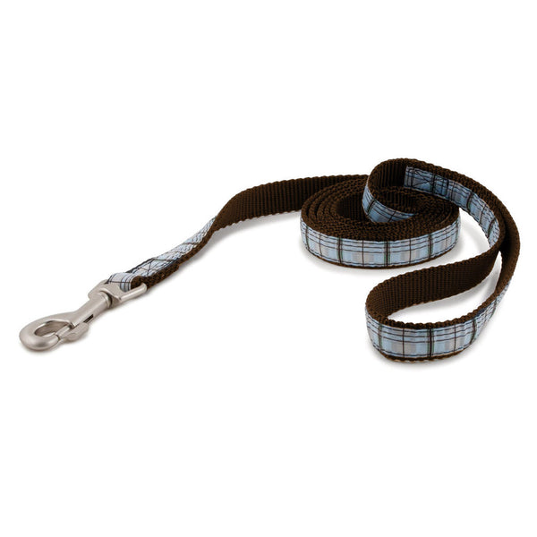 PetSafe Fido Finery Leash (Summer Plaid, 6' x 1/2) - FIN-LSH-1/2-X-6-SUP