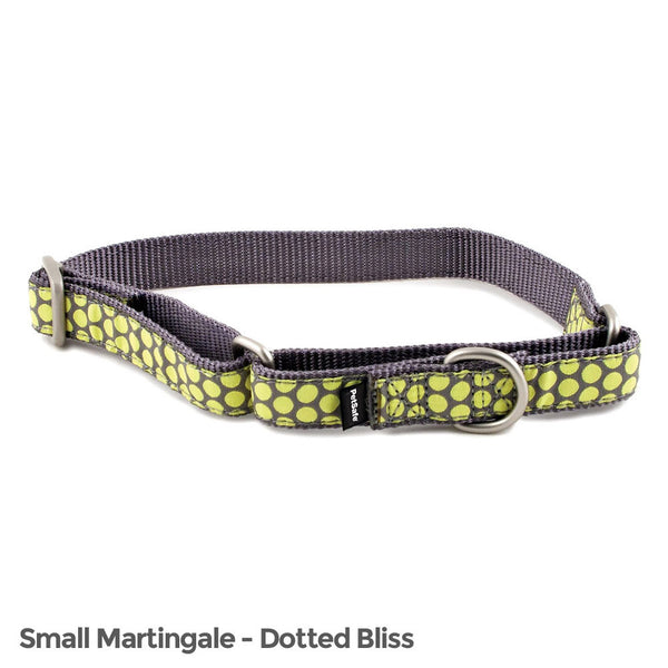 PetSafe Fido Finery Martingale Style Collar (3/4 Small, Dotted Bliss) - FIN-PRC-S-3/4-D