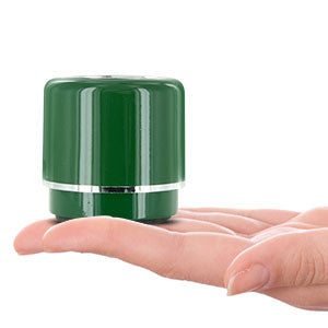 Mini-BOOM Wireless Bluetooth Speaker with Rechargeable Battery (Green)