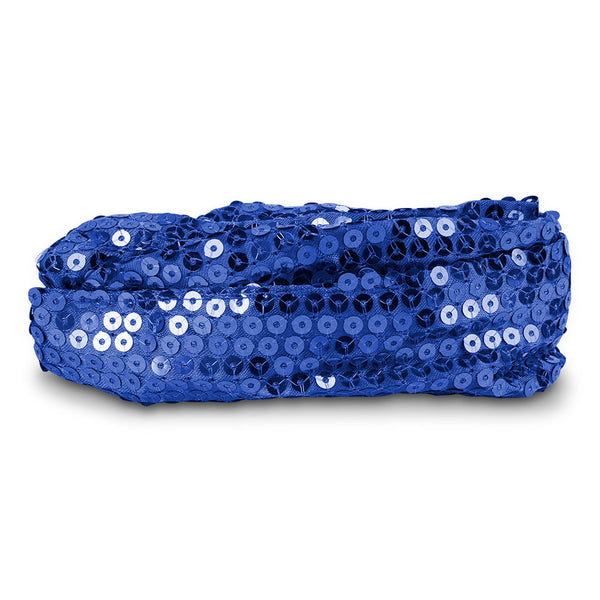 Calypso Studios Glitz Bendi Sequin Wire Headband, Blue