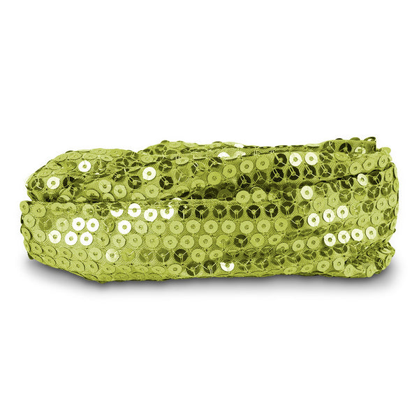 Calypso Studios Glitz Bendi Sequin Wire Headband, Light Green