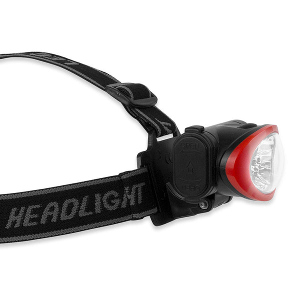 Camelion Ultra Bright 10 LED Headlamp (Black/Red)