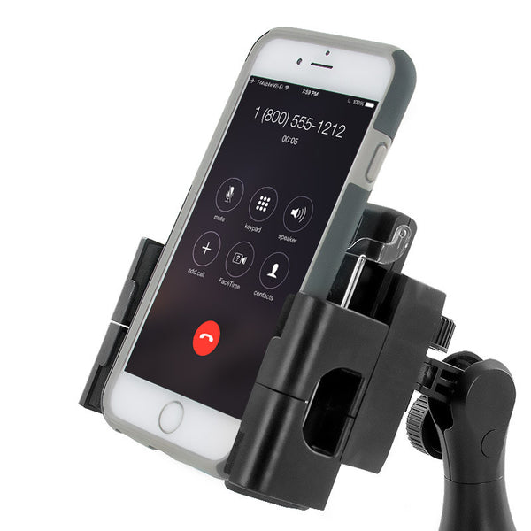 Universal Car Mount With 360-Degree Rotation For Mobile Electronic Devices
