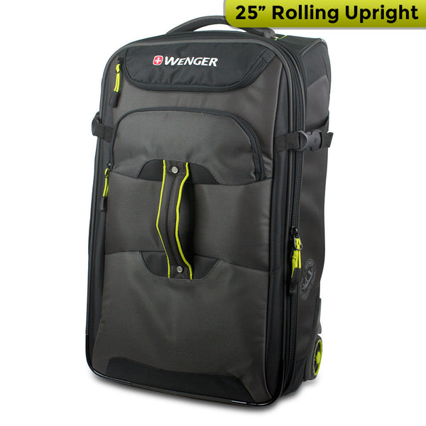 Wenger Terrain Crossing Collection 25 Rolling Upright (Gray/Black), 12495