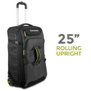 Wenger Terrain Crossing Collection 25 Rolling Upright (Gray/Black)