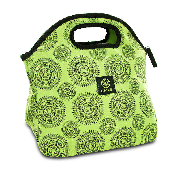 Gaiam Lunch Clutch - Green Marrakesh