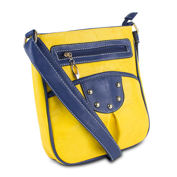 Mad Style Jane Crossbody, Yellow - 3320A