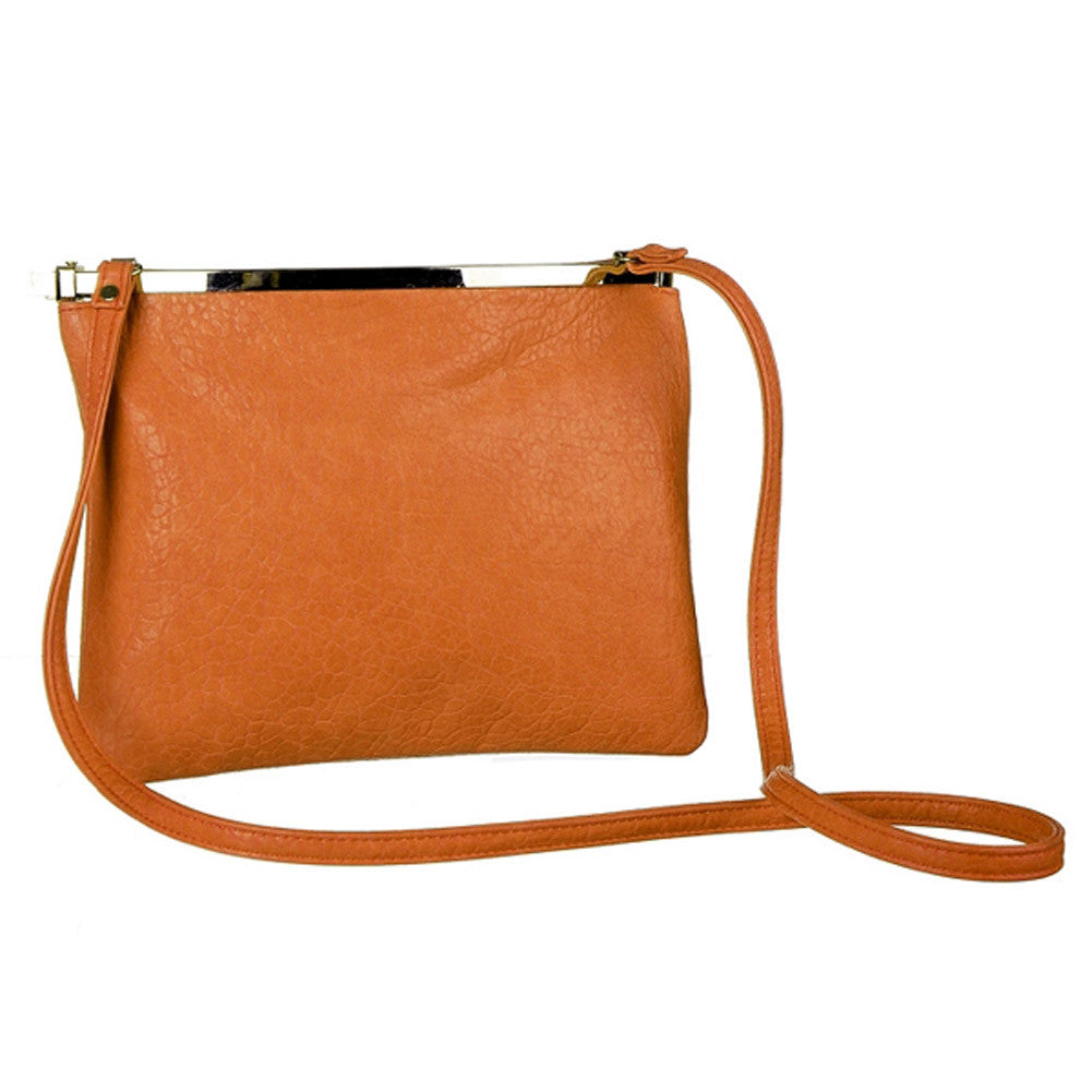 Mad Style Auto-Madic Crossbody Bag, Orange - 3423B