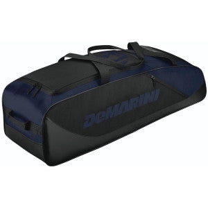 Wilson DeMarini D-Team Duffle Baseball Softball Bat Bag - Navy